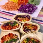 Turkey Rainbow Wraps