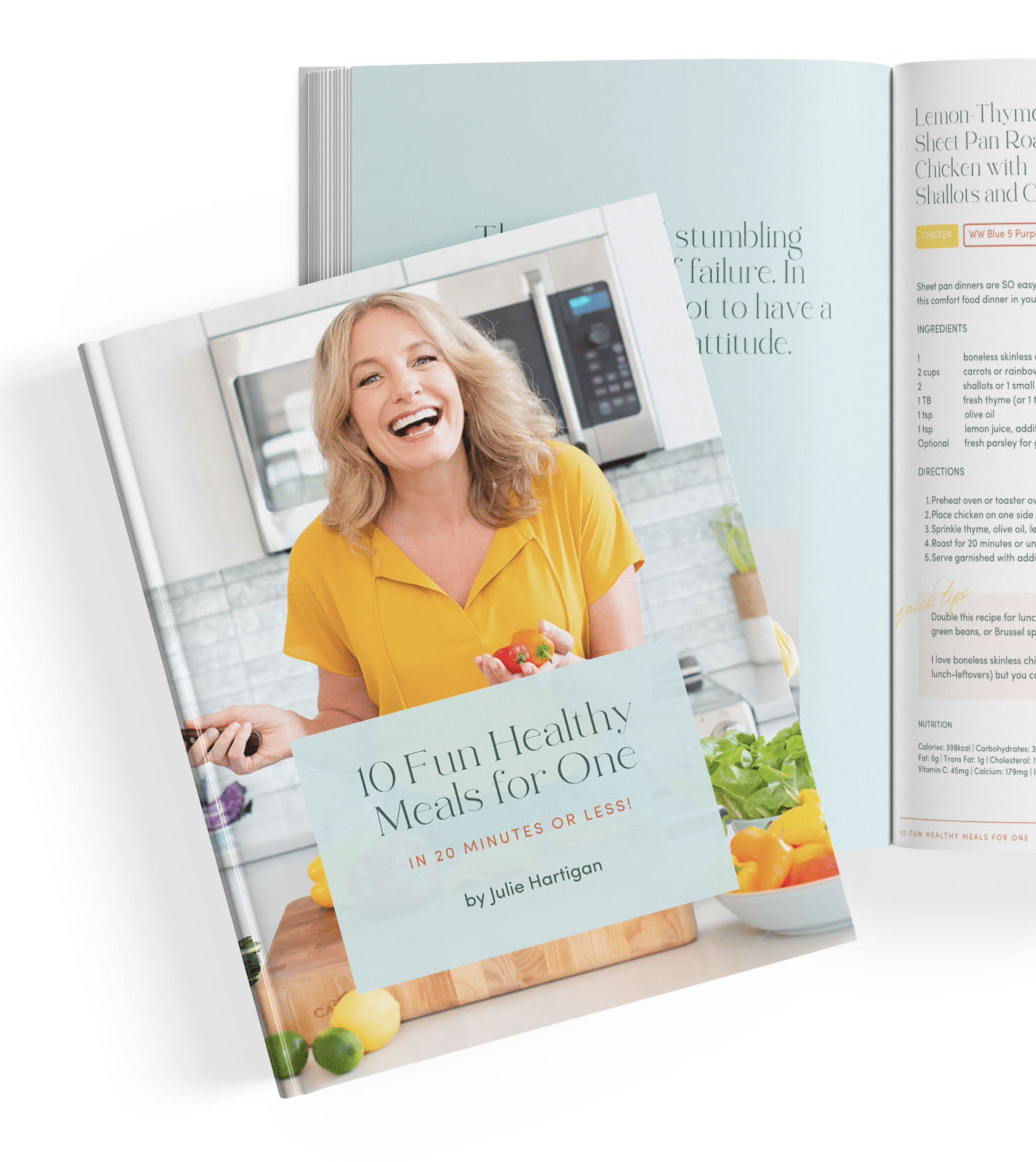 Free Download 10 Free and Healthy Meals For One