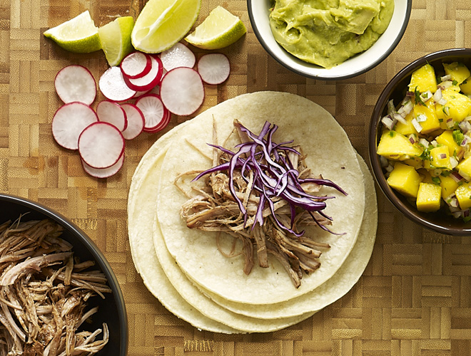 A big batch of Beer Braised Pulled Pork Tacoswill be appreciated by the carnivores & Mexican food lovers in your crew....