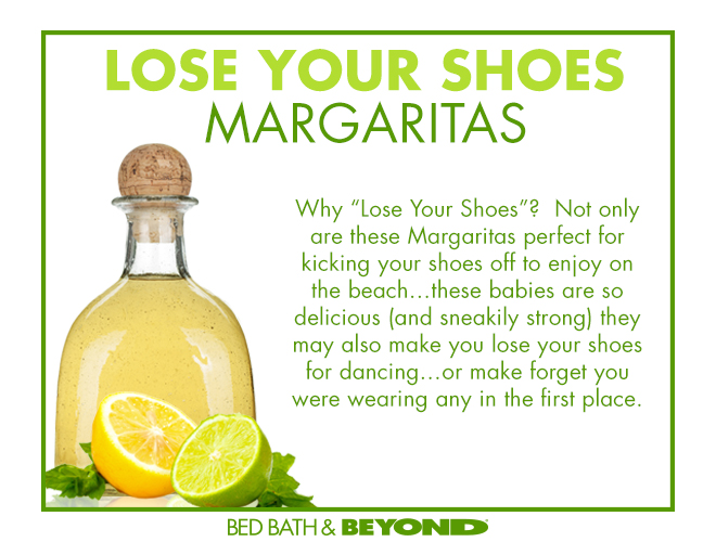 What is it about football watching and Tex-Mex food? Doesn't matter if it's guacamole, nachos, soft tacos or chili - it's always a fan fav. Mix up a big batch of my crazy-delicious & dangerously potent Lose Your Shoes Margaritasto get the party rocking.